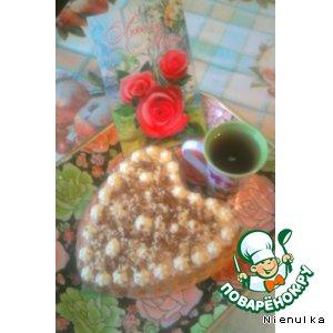 Рецепт Нежный завтрак  для любимой Мамы