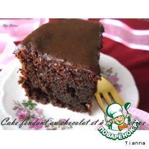 Рецепт Влажный шоколадно-свекольный кекс