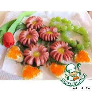 Рецепт Завтрак - подарок на 8 марта!