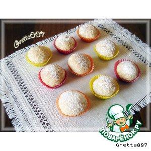 Рецепт Постные кокосовые булочки