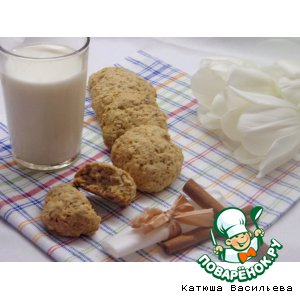 Рецепт Исчезающее овсяное печенье
