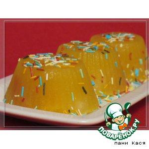 Рецепт Желейный десерт «Витаминка»