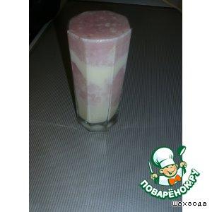 Рецепт Кисель молочно-клюквенный