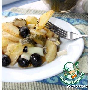 Рецепт Ароматный картофельный салат