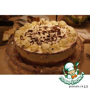 Рецепт Ежевичный торт с лимонным кремом