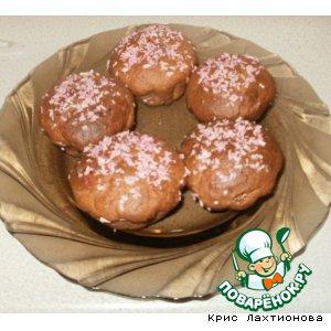 """Рецепт Творожные кексики """"Розовая жемчужина"""""""