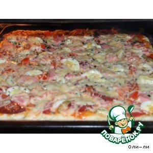 Готовим вкусный рецепт с фото Пицца-пирог