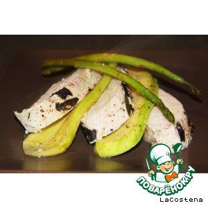 Куриное филе с розмарином и базиликом домашний рецепт с фото