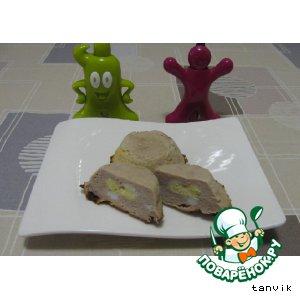 Рецепт Перепелиные котлетки с яйцом и сыром
