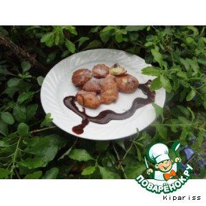 Рецепт Frittelle di riso - Рисовые пончики