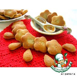 Рецепт Печенье бананово-медовое