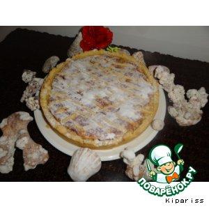 Рецепт Torta all\'uva - Пирог с виноградом