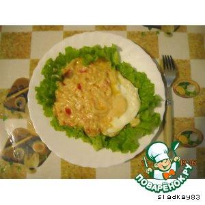 Рецепт Яичница по-итальянски