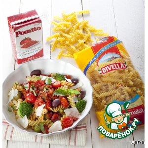 Рецепт Фузилли по-средиземноморски
