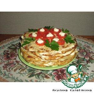 Рецепт Кабачковый торт