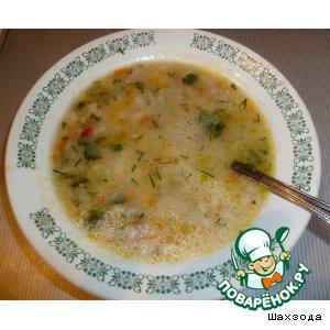Рецепт Суп овсяный