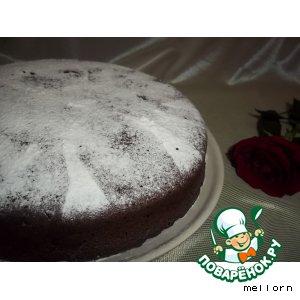 Рецепт Шоколадно-кофейный пирог с финиками