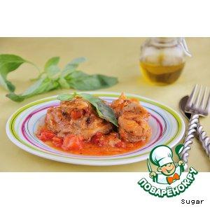 Рецепт Osso-bucco из индейки с базиликом