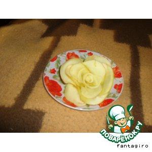 Рецепт Яблочная роза