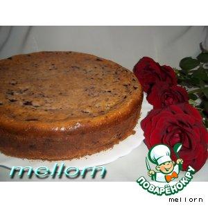 Рецепт Кукурузный пирог с творогом и черникой