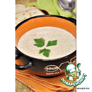 Рецепт Чечевичный суп-пюре с кокосовым молоком и имбирeм