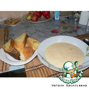 Рецепт Французский суп с тыквой