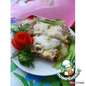 Рецепт Рисово-мясная запеканка с подливой