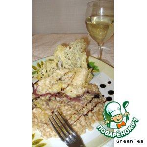 Рецепт Ризотто с бальзамическим уксусом и яблоками