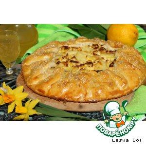 Рецепт Тосканский пирог с картофелем и луком-пореем