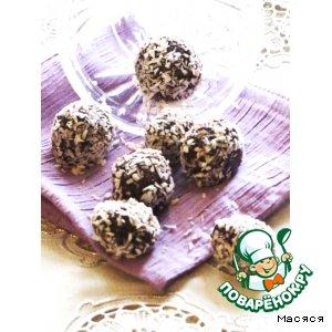 Рецепт Шоколадные конфеты с овсяными хлопьями