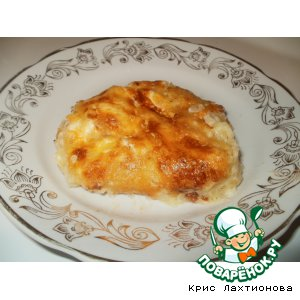 Рецепт Картофельная запеканка с плавленным сырком
