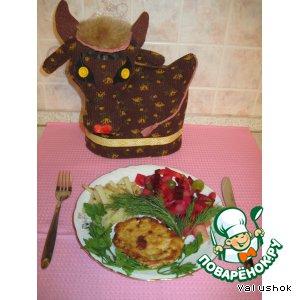 Рецепт Куриная  отбивная в сухарях