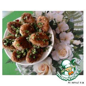 Рецепт Аппетитные котлетки из риса