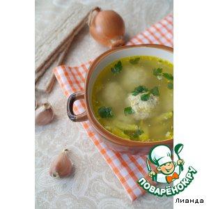 Рецепт Суп с фрикадельками из пекинской капусты
