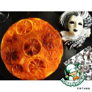 Рецепт Апельсиновый чамбеллоне «Карнавал»