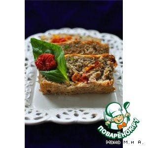 Рецепт Куриный террин с вялеными томатами по-средиземноморски
