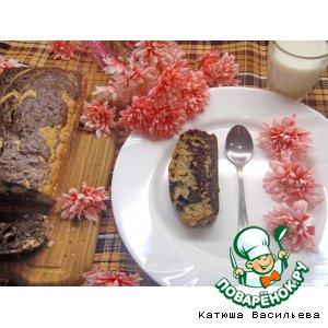 Рецепт Полезный кекс с бананами и овсяными хлопьями