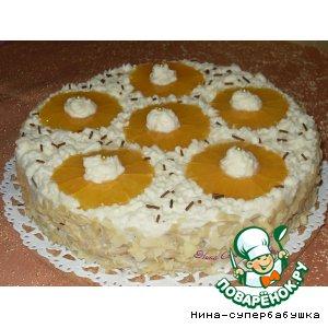 Рецепт Морковно-апельсиновый торт с миндалем