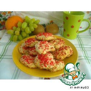 Рецепт Печенье кокосовое со злаками