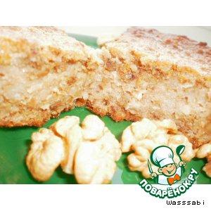 Рецепт Хлебный влажный кекс с грецким орехом
