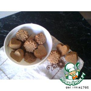 Рецепт Пряники из ржаной муки