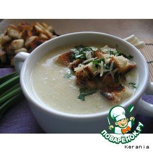 Рецепт Луковый крем-суп