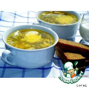 Рецепт Молдавская чорба с крапивой и щавелем