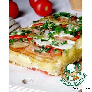Рецепт Spaghetti-Cake или Пирог из спагетти