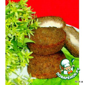 Рецепт Кекс на курином бульоне из черствого хлеба