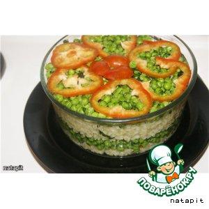 Рецепт Рис с овощами по-итальянски