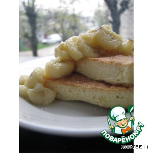 Рецепт Бисквитный омлет