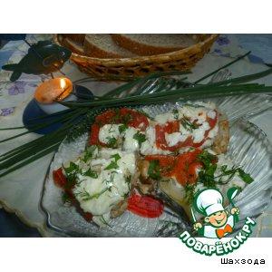 Рецепт Скумбрия, запеченная с черносливом