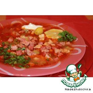 Солянка сборная мясная вкусный пошаговый рецепт приготовления с фото как готовить