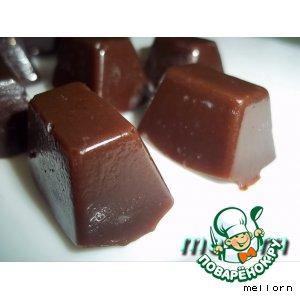 Рецепт Шоколадные ириски на топленом молоке